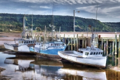 Bay of Fundy Boats, Low Tide
